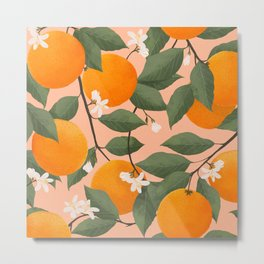 fresh citrus Metal Print
