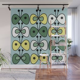 simply butterfly pattern Wall Mural