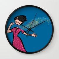 perfume Wall Clocks featuring Perfume by Bea Blanco