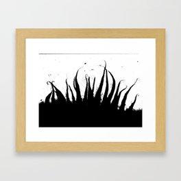 Fungal Groath Framed Art Print