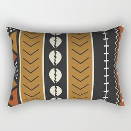Let's play mudcloth Rectangular Pillow