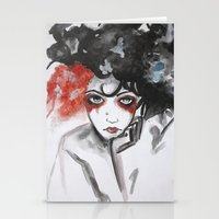 vendetta Stationery Cards featuring Vendetta by Valeri Prokopenko