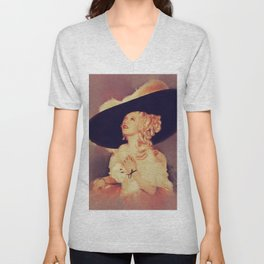 Marion Davies, Vintage Actress Unisex V-Neck