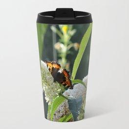 Small Tortoiseshell Butterfly Travel Mug