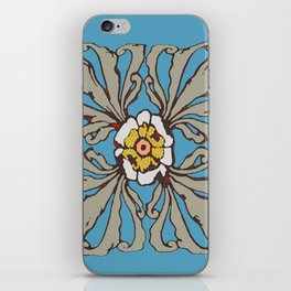 A Flower in the Moonlight iPhone Skin