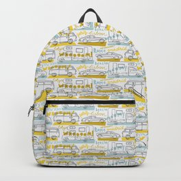 Wanderlust on the road Backpack