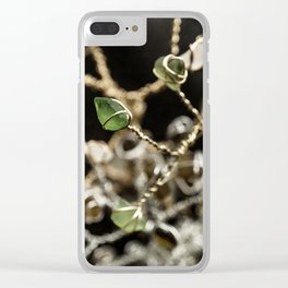 Entangled Glass Clear iPhone Case