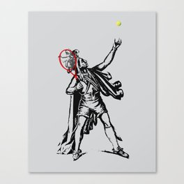 Chief of The Court Canvas Print