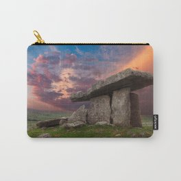 Poulnabrone Dolmen Sunset Carry-All Pouch