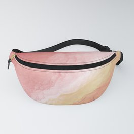Collision - nebula - space Fanny Pack
