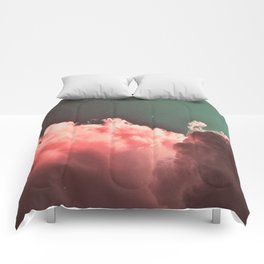 Pink Cotton Comforters