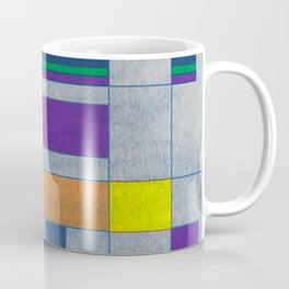 Mid-Century Modern Art - Rainbow Pride 1.0 Coffee Mug
