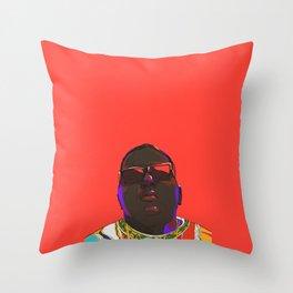 Biggie Smalls Throw Pillow