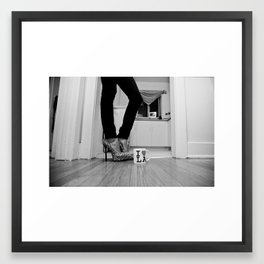 LA Lady Framed Art Print