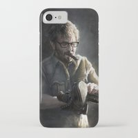 marc iPhone & iPod Cases featuring Marc Maron by Pavel Sokov