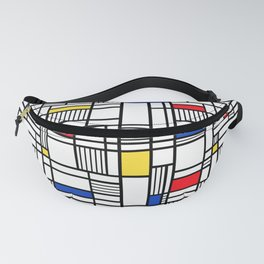 Map Lines Mond Fanny Pack