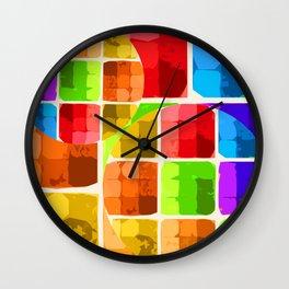 Denatured Wall Clock