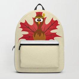 Thanksgiving Tribal Turkey Woodland Nursery Backpack