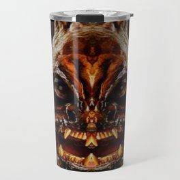 Halloween Mask 01218 Travel Mug