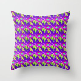 CACTI IN SPACE Throw Pillow
