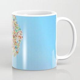 Summer ice cream with rainbow sprinkles Coffee Mug