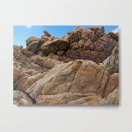 """""""Rock Scramble (ii)"""" by ICA PAVON Metal Print"""