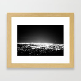 Planet Los Angeles Framed Art Print