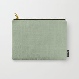 Laurel Green - solid color Carry-All Pouch