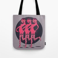 booty Tote Bags featuring BOOTY by Yna Crez