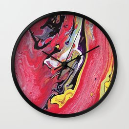 banana acid Wall Clock
