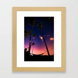 Endless Summer Nights Framed Art Print