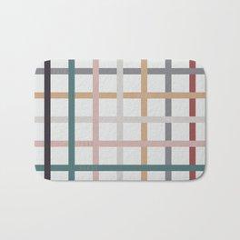 for Love || plaid Bath Mat