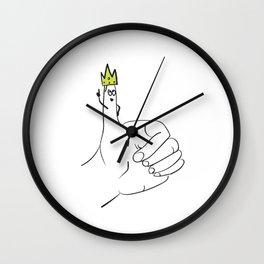 Rule of Thumb Idiom Wall Clock