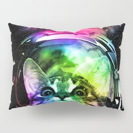 Cosmos Cat Pillow Sham