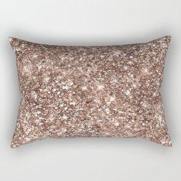 Beatiful Glitter Design Rectangular Pillow