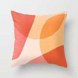 O Calor Das Formas Throw Pillow