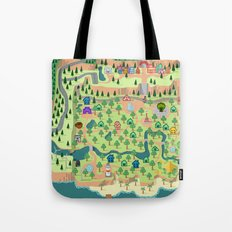 Animal Crossing (どうぶつの 森) Tote Bag