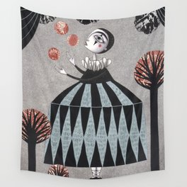 The Juggler's Hour Wall Tapestry