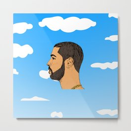 Drake Nothing Was The Same Metal Print