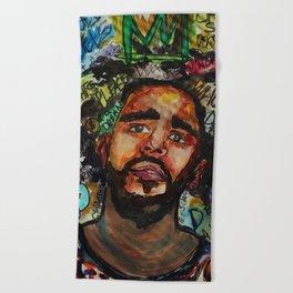 Rap,hiphop,lyric poster,shirt,cool wall art,fan art,music inspired Beach Towel