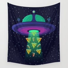 Alien Munchies Wall Tapestry