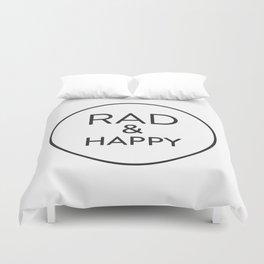 Rad & Happy Duvet Cover