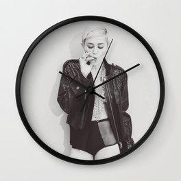 Miley Cyrus Shirt Wall Clock
