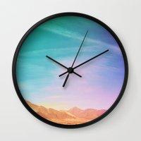 lolita Wall Clocks featuring Lolita  by arielle vey