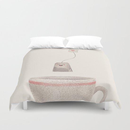 Tea Duvet Cover