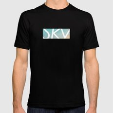 Sky Mens Fitted Tee Black MEDIUM