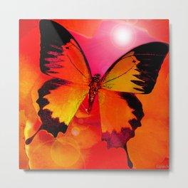 Papillon du soleil Metal Print