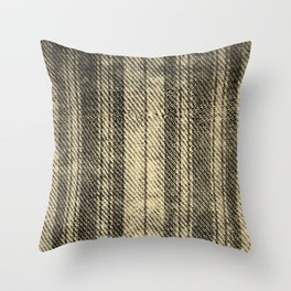 OLD & WORN TICKING Throw Pillow