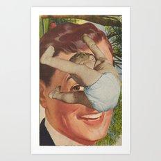 Raining Babies Art Print