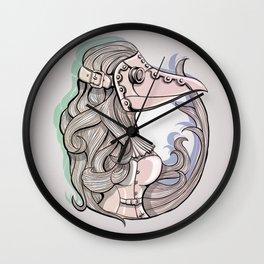 Lady Plague Wall Clock